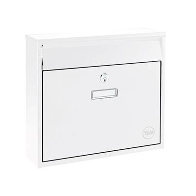 Yale Locks Ohio Postbox White