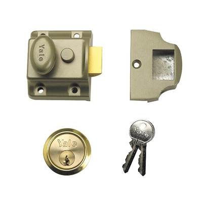 Yale Locks 723 Deadlatch 40mm Backset ENB Finish Box