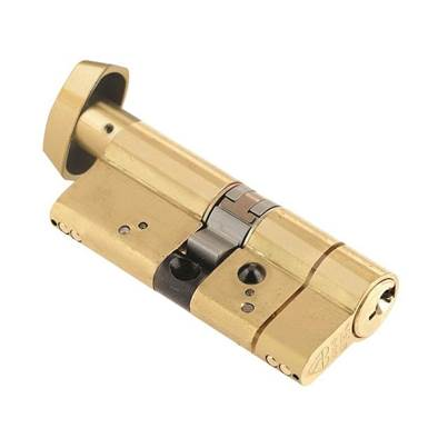 Yale Locks Anti-Snap Platinum Thumbturn Cylinders