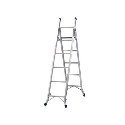 Zarges Combination Ladder 3-Way 1 x 5 and 1 x 6 Rungs