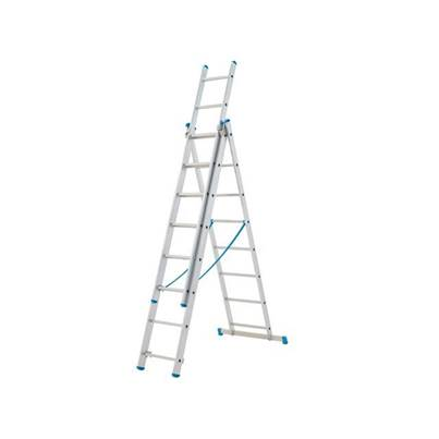 Zarges Economy 3-Part Combi Ladders