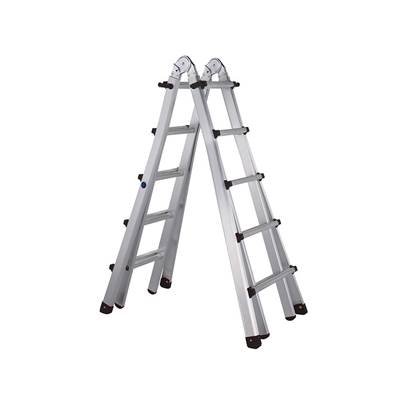 Zarges Trade 4-Part Telescopic Ladder