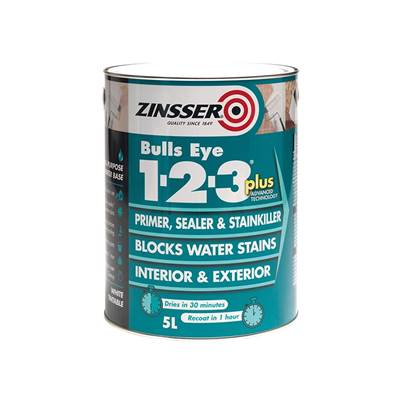 Zinsser Primer - Sealer Bulls Eye 123 Plus