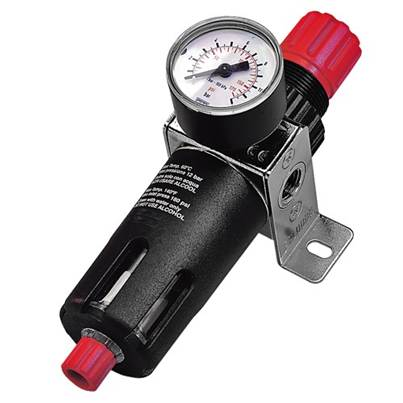 "SIP 07526 1/4"" Filter Regulator with Gauge"