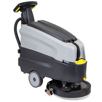 SIP 07986 SD1600BAT Walk-Behind Floor Scrubber Dryer