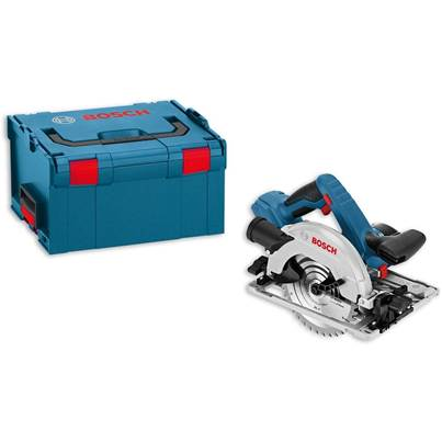 Bosch GKS18V-57G Professional 165mm Cordless Circular Saw (Bare Unit) Plus LBoxx