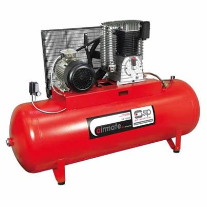 SIP 06295 Industrial ISBD10/270 Super Electric Compressor