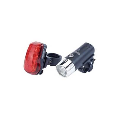 Draper 24815 Front & Rear LED Bicycle light Set