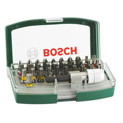 Bosch 32 Piece Screwdriver Bit Set With Colour Coding