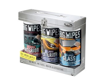 Big Wipes Automotive Triple Pack of 3 x 40 Wipes