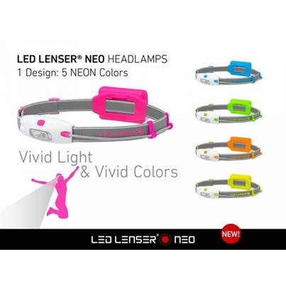 LED Lenser Neo Yellow Head Lamp