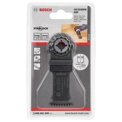 Bosch BiM Plunge-Cutting Saw Blade AIZ 32 BSPB for Hard Wood