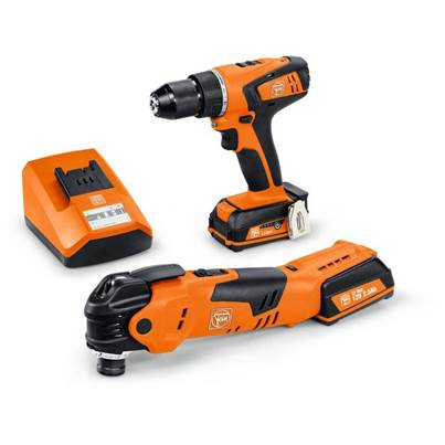 ABSU12C + AFMT12Q 12v 2x2.5Ah Li-ion Drill Driver and Multi Tool Twin Kit