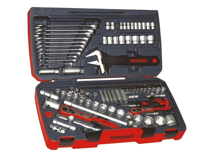TM127 127 Piece 1/4In 1/2In and 3/8In Socket Tool Set