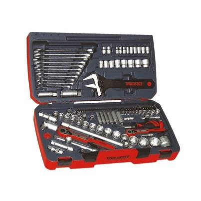 Teng TM127 127 Piece 1/4In 1/2In and 3/8In Socket Tool Set