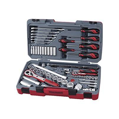 TM095 95 Piece 1/4in and 1/2in Socket and Tool Set