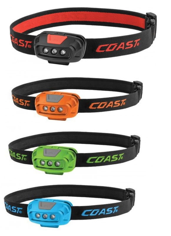 Coast FL14 Dual Color Weatherproof Head Torch - Blue