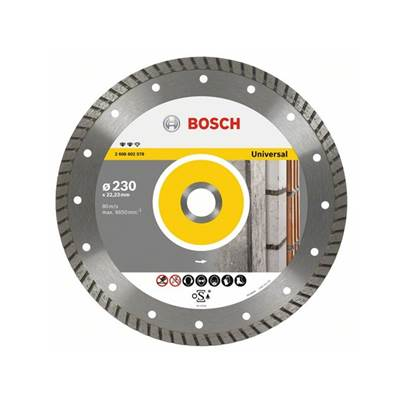 Bosch Diamond cutting disc Expert for Universal Turbo