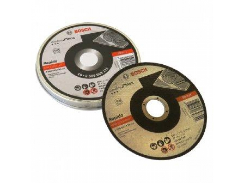 Thin Metal Cutting Disc Inox Pack of 10 in a Tin