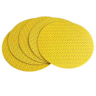 FLEX Velcro Sanding Paper Perforated To Suit GE5, GE5R, WS702 /WST700 / WSE500 / WSE7, P150 Grit Pack 25