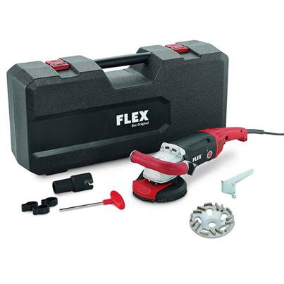 FLEX Flex LD 187 125 R, Kit TH-Jet Concrete Grinder 230v