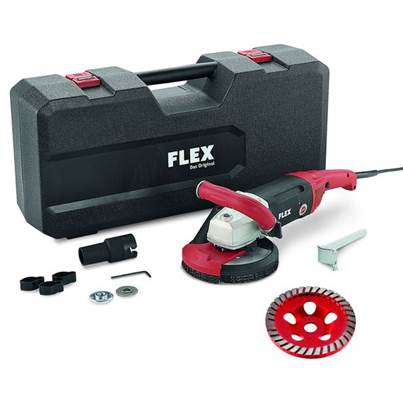 FLEX Flex LD18-7 150 R, Kit Turbo Jet Concrete Grinder 230v
