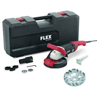 FLEX Flex LD18-7 150 R, Kit TH Jet Concrete Grinder 230v
