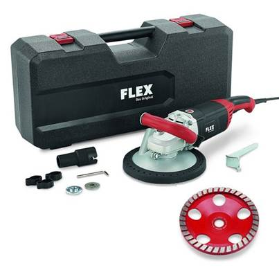 FLEX Flex LD24-6 180, Kit Turbo-Jet Concrete Grinder 230v