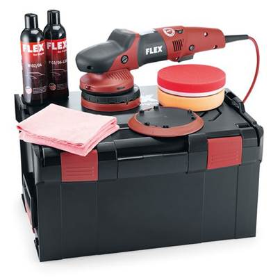 FLEX XFE7-15 150 P-Set 230v Random orbital Polisher