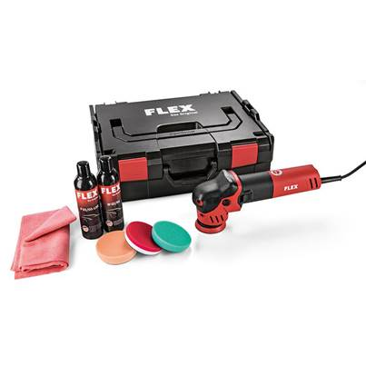 FLEX Flex XFE 7-12 80 P-Set 230v Random orbital Polisher