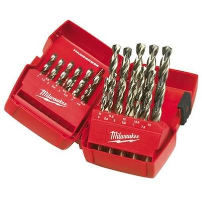 Milwaukee 4932352376 Thunderweb 25 Piece HSS-G Drill Bit Set