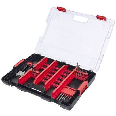 Milwaukee Shockwave Heavy Duty Accessory Box - 100pc
