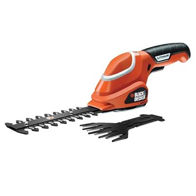Black & Decker GSL 700 Shear Shrubber Kit 7 Volt Li-ion