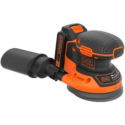 Black & Decker BDCROS18 18v Cordless Disc Sander 125mm 1 x 1.5ah Li-ion Battery
