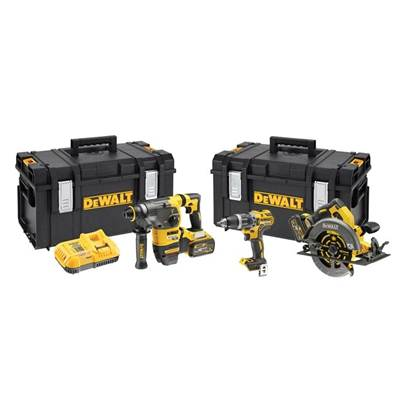 DEWALT DCK357T2 18v XR 6.0Ah FLEXVOLT Triple Kit
