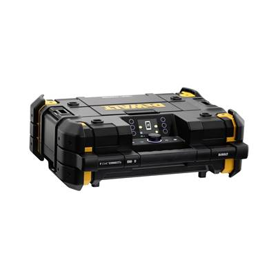 DEWALT DWST1-81079-GB 18v Bluetooth DAB TSTAK Jobsite Radio