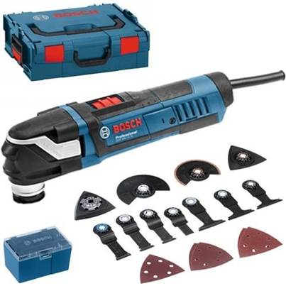 Bosch GOP 40-30 400W Multi-Cutter & 15 Accessories