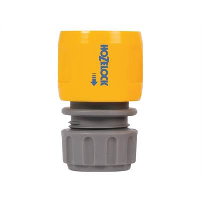 Hozelock 2166 Hose End Connector  for 12.5-15 mm (1/2 in & 5/8 in) Hose