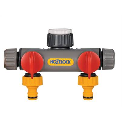 Hozelock Two Way Tap Connector