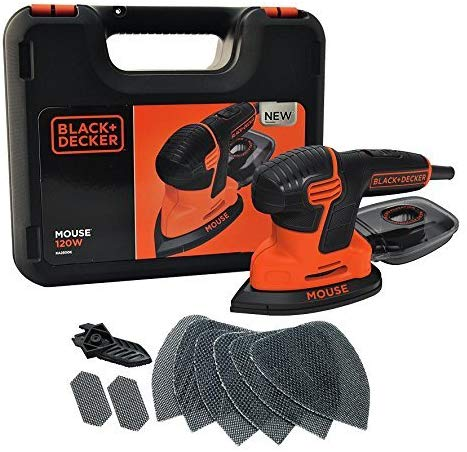 Black & Decker KA2500K-GB Compact Mouse Sander 120W 240V