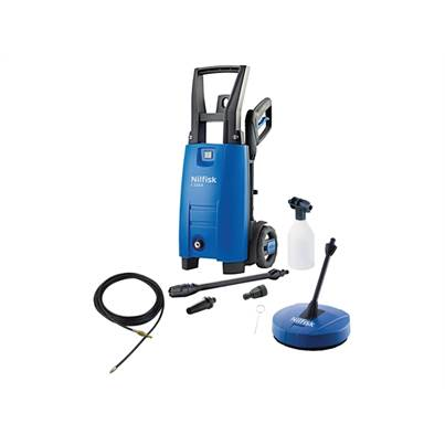 Nilfisk C110.4-5 PCD X-TRA Pressure Washer With Patio & Drain Cleaner 110 Bar 240 Volt