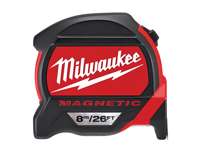 Premium Magnetic Tape Measure 8m/26ft (Width 27mm)