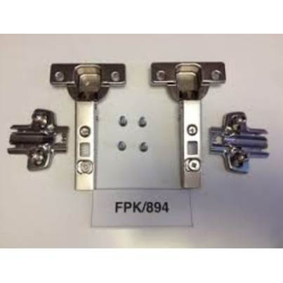 Hetich Cabinet Hinges & fixings. Kitchen, Bathroom & Bedroom. FPK/894