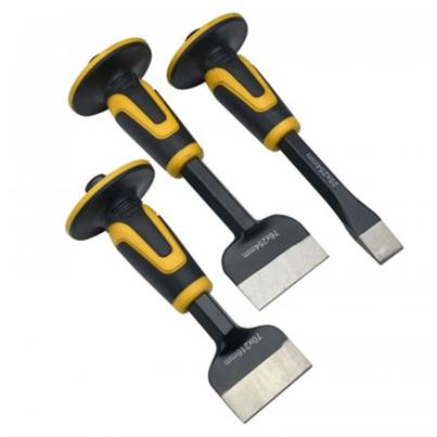 Roughneck 31970 Chisel & Bolster Set, 3 Piece