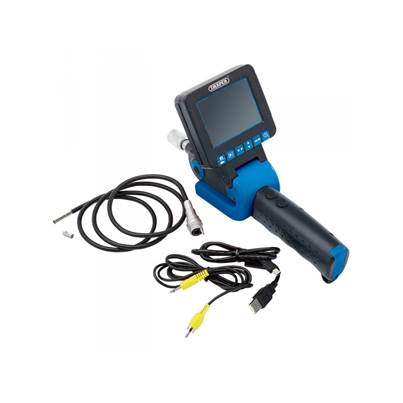 Draper 05163 Inspection Camera with Memory Card Slot and 5.5mm Probe