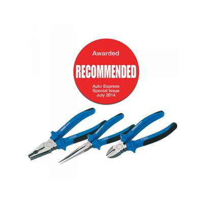 Draper 69289 Expert 3 Piece Heavy Duty Soft Grip Pliers Set