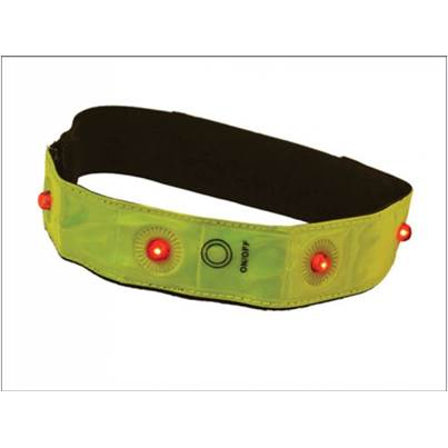 Scan ScanHigh-Vis LED Flashing Arm/Ankle Bands SCAWWHVBAND