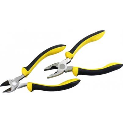 Rolson 2pc 150mm Pliers Set