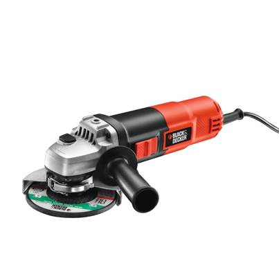 Black & Decker KG901K Angle Grinder 115mm 900 Watt With Carry Case