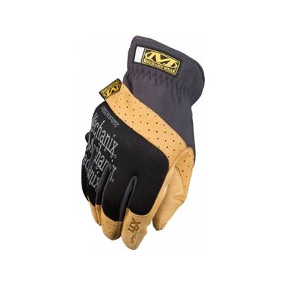 Mechanix Material4X FastFit Gloves - Cowhide/Black